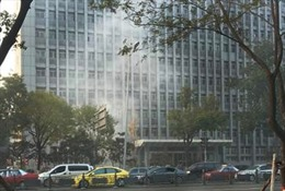 Vụ nổ gần Tỉnh ủy Sơn Tây có thể do bom tự chế