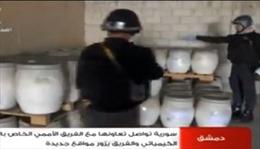 Còn 1 kho vũ khí hóa học Syria chưa kiểm tra