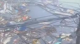 Siêu bão Hải Yến hoành hành Philippines