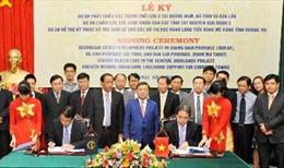 ADB ký hiệp định vay vốn với Việt Nam