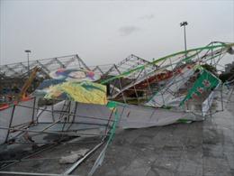 Bão 14 gây thiệt hại hoa màu, thủy sản tại Nam Định, Thái Bình