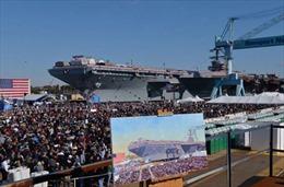 Tàu sân bay USS Gerald R. Ford sẽ được bố trí ở đâu?