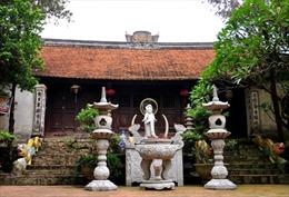 Tượng giống sư trụ trì chùa Chân Long đã được dời đi