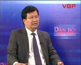 Bộ trưởng Trịnh Đình Dũng trả lời về gói 30.000 tỉ