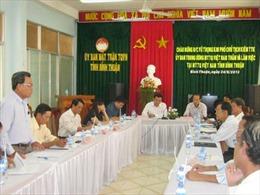Ông Phan Thanh Chính làm Chủ tịch Ủy ban MTTQ tỉnh Bình Thuận