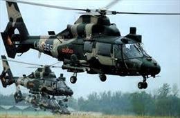 Trung Quốc chuyển giao 12 trực thăng cho Campuchia