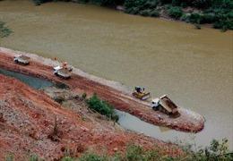 Phát lệnh ngăn sông Mã đợt 1 Thủy điện Trung Sơn