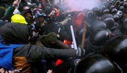 EU kêu gọi kiềm chế trước diễn biến xung đột ở Ukraine