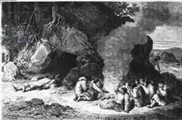Phát hiện dấu tích 'cỗ đám tang' thời tiền sử