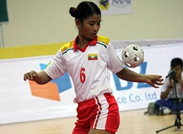 Huy chương vàng SEA Games 27 đầu tiên thuộc về chủ nhà Myanmar