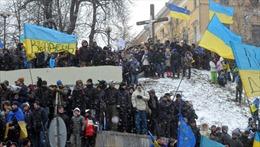 Tiếp diễn làn sóng biểu tình ở Ukraine