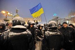 Cảnh sát Ukraine ra tay với người biểu tình ở quảng trường Độc lập