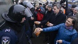 Ukraine bác cáo buộc dùng vũ lực giải tán biểu tình