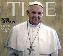 """Giáo hoàng Francis là """"Nhân vật của năm"""""""