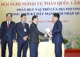 Ngoại vụ địa phương góp phần thắng lợi ngoại giao Việt Nam
