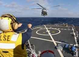 Mỹ triển khai tàu khu trục tại châu Âu