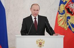 """Ông Putin là """"Nhân vật của năm"""" tại Nga"""