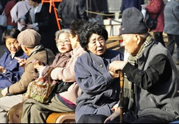 Châu Á với thách thức già hóa dân số