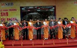 SHB khai trương chi nhánh Thái Bình