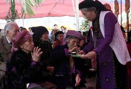 Độc đáo lễ mừng thọ của người Tày ở Bắc Giang