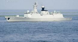 Tàu chiến Trung Quốc hộ tống vận chuyển vũ khí hoá học Syria