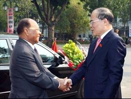 Chủ tịch QH Campuchia kết thúc tốt đẹp chuyến thăm Việt Nam