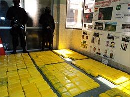 Triệt phá đường dây buôn ma túy bằng máy bay tại Nam Mỹ