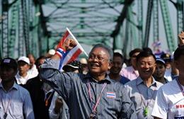 Thủ lĩnh biểu tình Thái Lan tuyên bố không thương lượng