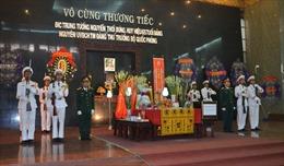Tổ chức trọng thể lễ viếng Trung tướng Nguyễn Thới Bưng