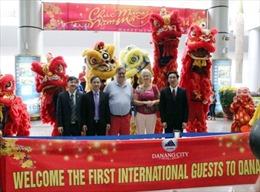 Gần 120 du khách quốc tế bay đến Đà Nẵng ngày mùng 1 Tết