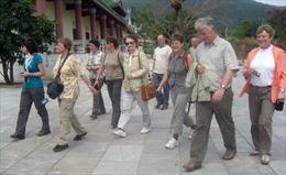 Gần 41.000 khách nước ngoài đến Huế trong Tết