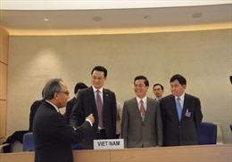 Nhóm làm việc về UPR của Hội đồng Nhân quyền LHQ thông qua báo cáo của Việt Nam