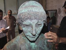 Phát hiện tượng thần Apollo Hy Lạp ở Dải Gaza