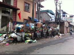 Khổ vì rác thực phẩm sau Tết