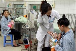 Bệnh nhi nhập viện tăng vì rét