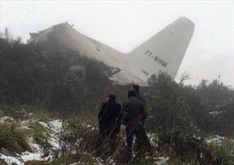 Tìm thấy hộp đen của máy bay Algeria gặp nạn