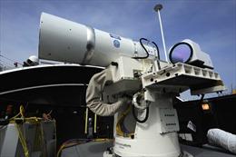 Hải quân Mỹ sẵn sàng triển khai vũ khí laser