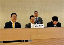 Việt Nam cam kết thúc đẩy quyền con người