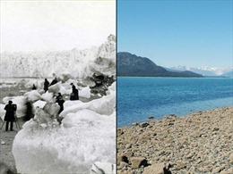 Chùm ảnh 'trước và sau' khi biến đổi khí hậu