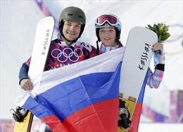 Vợ chồng cùng giành HCV một ngày tại Olympic Sochi