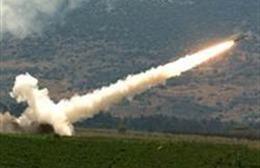 Tên lửa Kachiusa bắn vào Israel bị đánh chặn