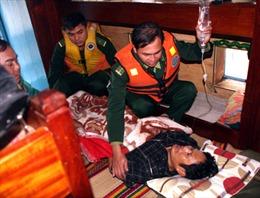 Chăm sóc sức khoẻ quân dân nơi đảo tiền tiêu Cù Lao Chàm