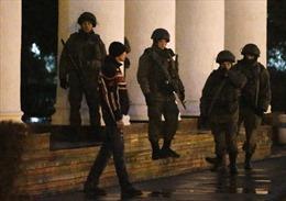 Bộ Nội vụ Ukraine cáo buộc Nga 'xâm lược' Crưm