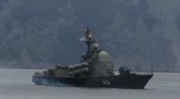 Ukraine báo động quân đội, tàu chiến Nga xuất hiện ngoài khơi Crưm