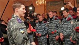 Nga sẵn sàng thuê cảnh sát Ukraine