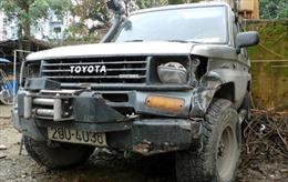 Hà Nội: Xế hộp Land Cruiser tông nữ sinh chấn thương sọ não