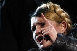 'Nữ hoàng tóc tết' muốn 'bứng' Hạm đội Biển Đen ra khỏi Ukraine