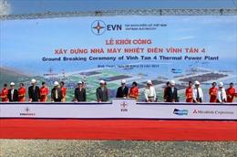 Khởi công Nhà máy Nhiệt điện Vĩnh Tân 4