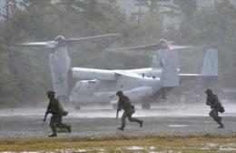 Mỹ bắt đầu diễn tập quân sự sát Nga