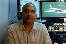 Malaysia khám nhà cơ trưởng máy bay mất tích